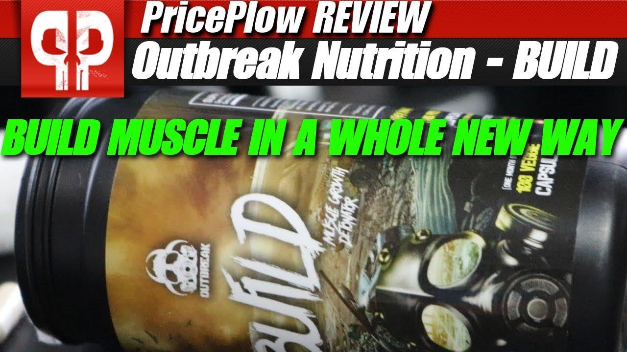 Outbreak Nutrition BUILD: Muscle Builder Ingredients - Vidly xyz