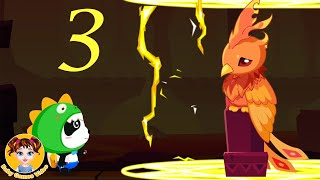 Little Panda's Jewel Adventure 3 Fire Kingdom - BabyBus Kids Games - Baby Games Videos