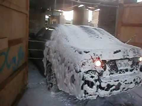 Car Interior Wash >> MAQUINAS PARA LAVADERO DE AUTOS Tunel lavado de autos Peru.wmv - YouTube