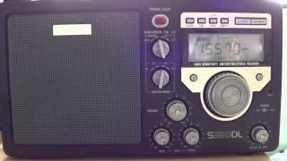Eton S350DL on Radio Vatican 15570 khz