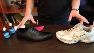 видео как вывести запах из сапог