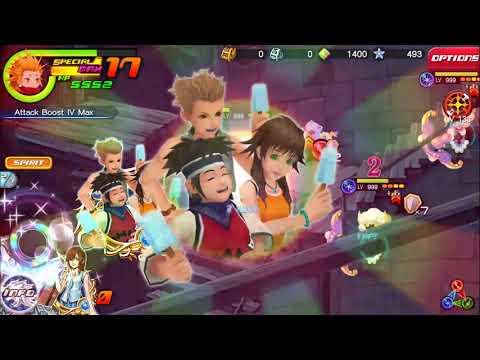 Kingdom Hearts Union X (Weekly Gem Quest 1: Gotta Love The Status Aliments...)