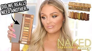 NEW URBAN DECAY HONEY PALETTE | REVIEW + TUTORIAL & SWATCHES
