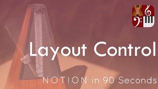 Layout Control—PreSonus Notion in 90 Seconds