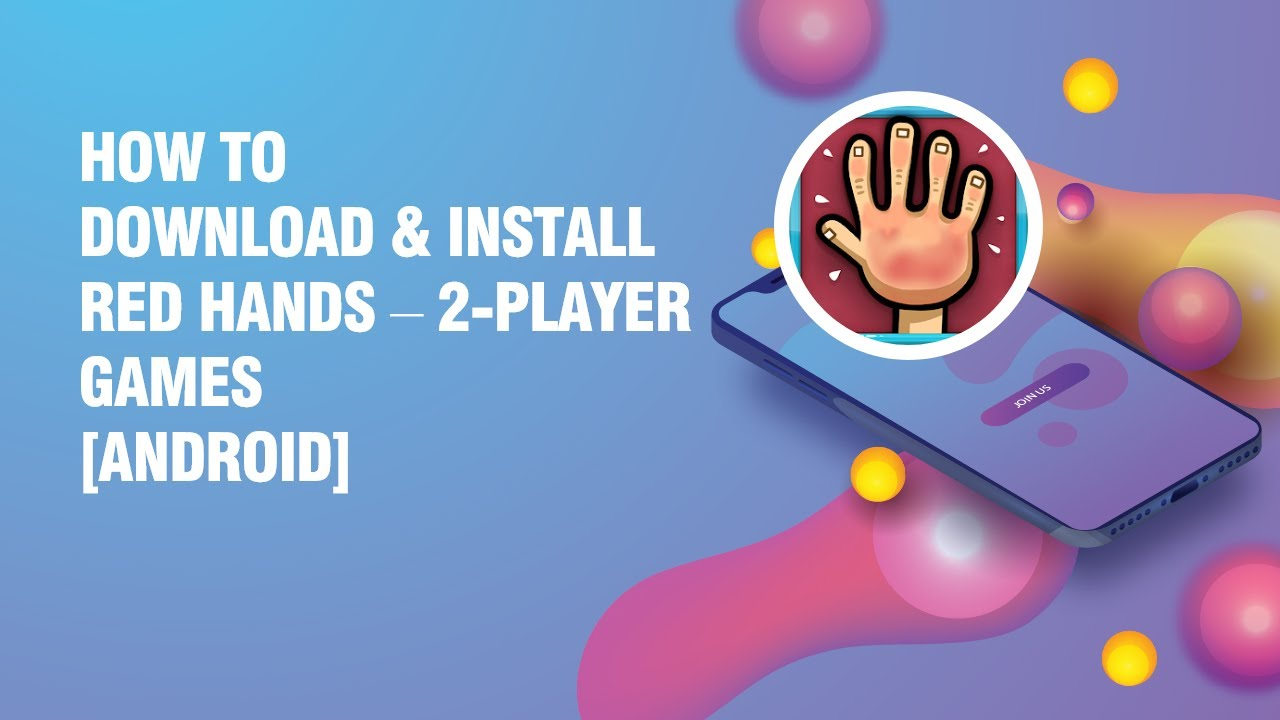 Download and install Red Hands – 2-Player Games APK on android phone  #Smartphone #Android