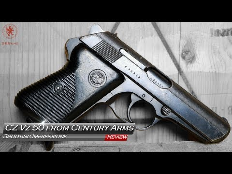 CZ VZ 50 From Century Arms Shooting Impressions
