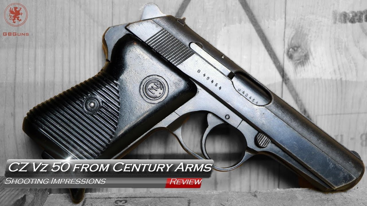Classic CZ Vz 50 Pistol from Century Arms Surplus Corner