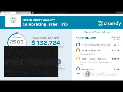 Abrams Hebrew Academy Live Stream
