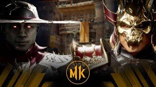 Mortal Kombat 11 - Kung Lao Vs Shao Kahn (Very Hard)