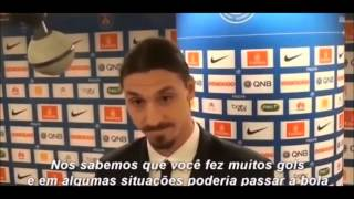 Zlatan Ibrahimovic vs Journalists
