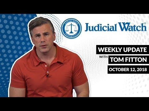 Tom Fitton's Weekly Video Update: NEW UPDATE on Clinton Email Scandal...