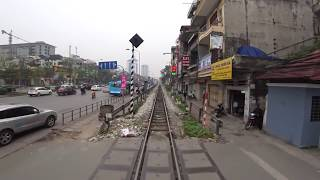 Train Driver record SE5 Hanoi - Ninh Binh (2017)