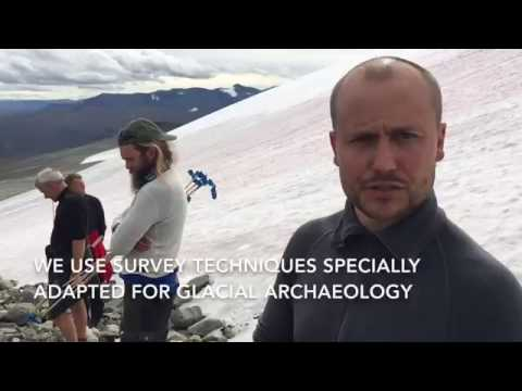 Archaeological survey at the ice