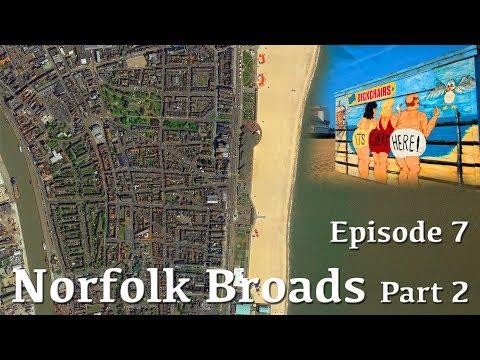 Ep 7 Norfolk Broads Part 2 of 3 - Sailing SV Compromise