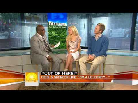 Al Roker Ripps Heidi & Spencer To Pieces on The Today