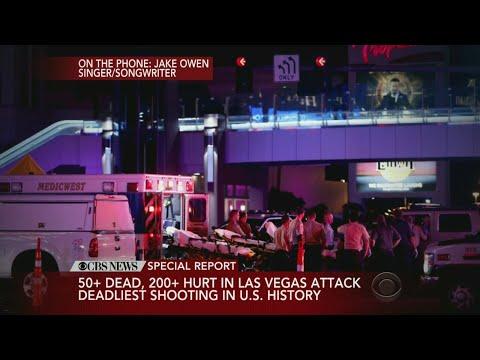 Country Singer Jake Owen On Las Vegas Shooting.