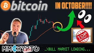 """BITCOIN'S MOST EXPLOSIVE MOVE of 2019 Coming IN OCTOBER!!!? THIS BTC Chart YELLS """"YES!!"""""""