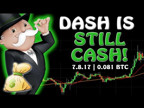 ⚡⚡ DASH IS STILL CASH!  Bitcoin Price 2547 USD JULY 8 | Crypto Currency Stock Chart Analysis BTC ETH