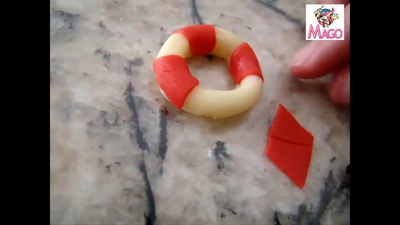 Modelagem em pasta de leite em pó  bóia - YouTube b75f8bd703b