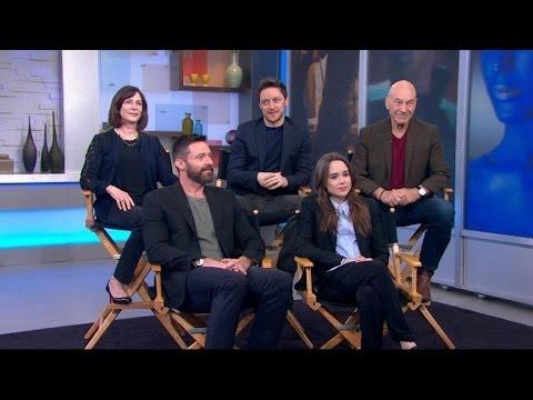 'X-Men' Cast Members on Fighting Killer Robots, Time Travel