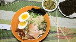Азиатский суп Кимчи Рамен