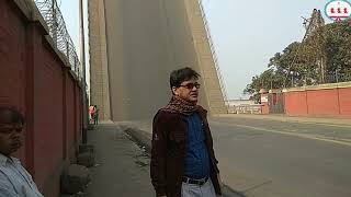 Folded Bridge at Kidderpore, Kolkata - for movement of ships