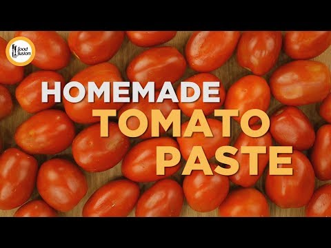 Homemade Tomato Paste Recipe By Food Fusion