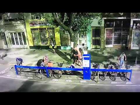 Vandalizaron una estación de bicicletas en barrio Parque