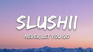 Slushii - Never Let You Go (Lyrics) ft. Sofia Reyes