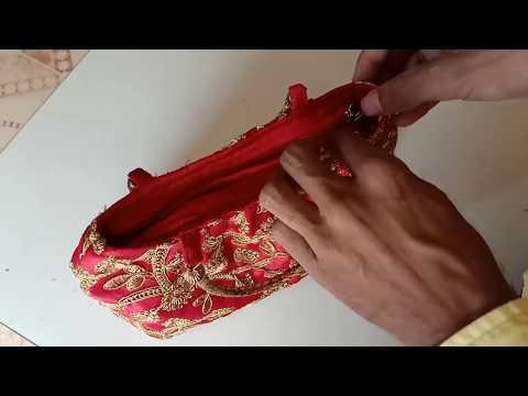 hand purse making at home    hand bag tutorial