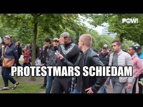Protestmars Schiedam