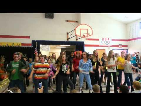 Mcclelland school flash mob