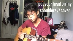 put your head on my shoulder by paul anka // cover