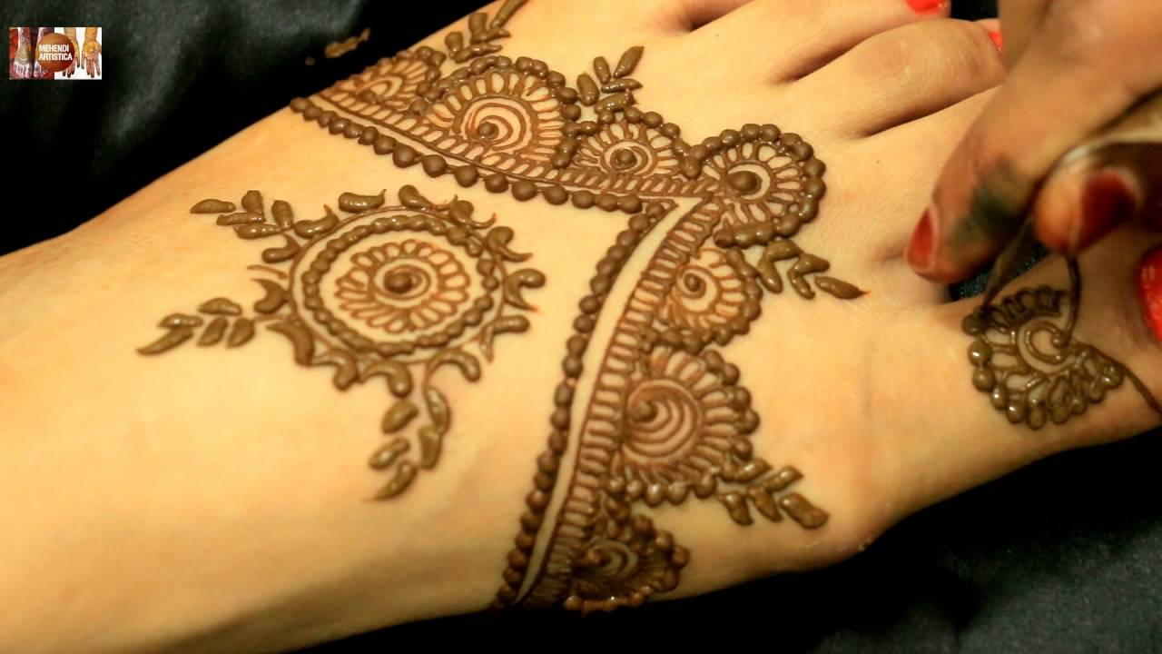 Beautiful Easy Mehndi Design For Beginners Learn How To Draw Mehendi