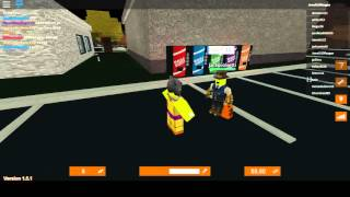 Playing in roblox in trick or treat in hallowsville doing quest