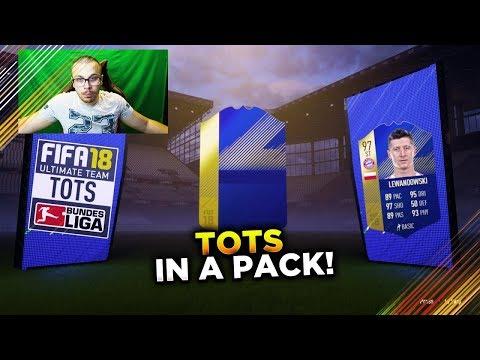 FIFA 18 BUNDESLIGA TOTS PACK OPENING! OMG WE PACKED A BUNDESLIGA TOTS PLAYER!