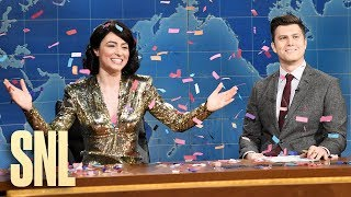 Weekend Update: Melissa Villaseñor on Oscar Snubs - SNL