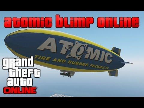 GTA 5 ONLINE : (NEW) ATOMIC BLIMP ONLINE...