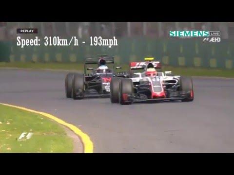 -Fernando Alonso Crash - Austrália 2016