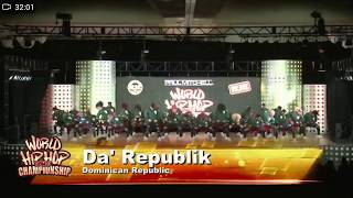 Da' Republic 2017 World Hip Hop Dance Championship Semifinals: WORLD HIP HOP DANCE CHAMPIONSHIP