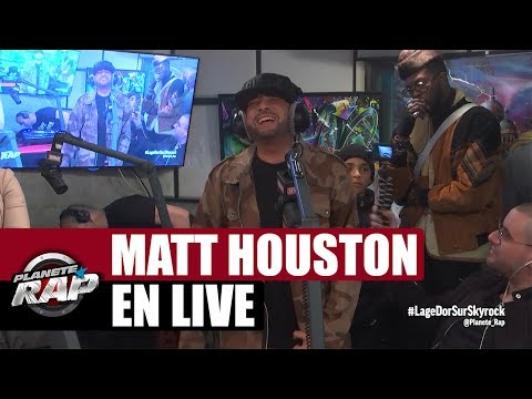 "Matt Houston ""Dans la peau d'un dealer, Cendrillon du Ghetto & RnB 2 Rue"" en live #PlanèteRap"