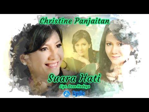 Christine Panjaitan - Suara Hati ( Lyric)