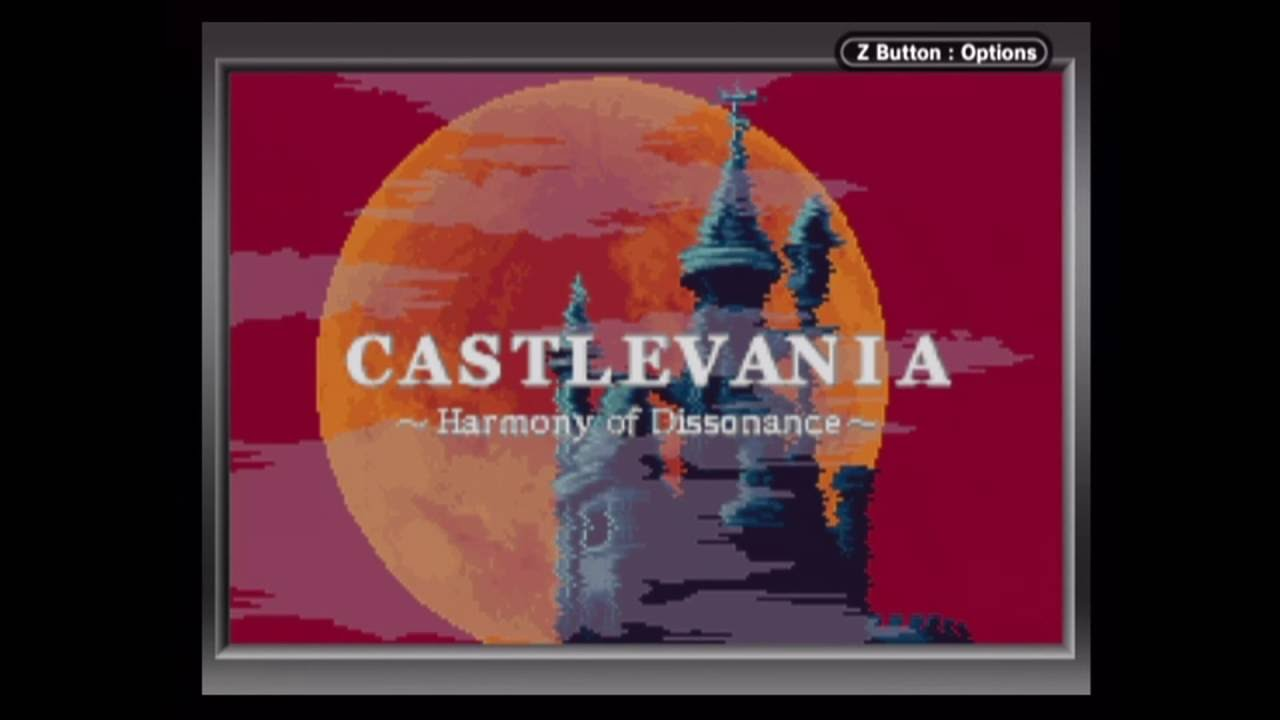 Castlevania Harmony Of Dissonance Playthrough Game Boy Player Capture