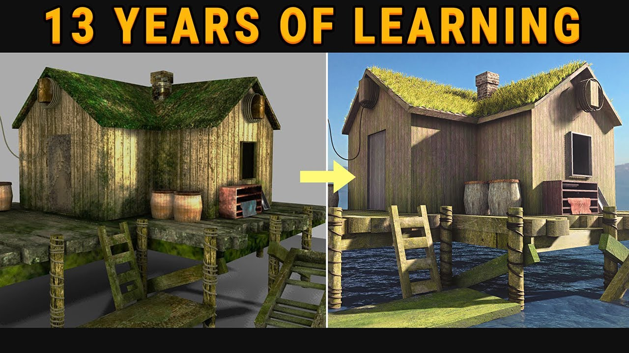 How I Upgraded My First 3D Model After 13 Years in Unity