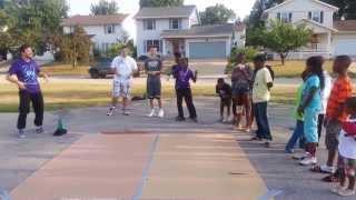Break Free Ministry- Break dancing at The Hub w/Yom6 Pt.1 (Michael Swalley)