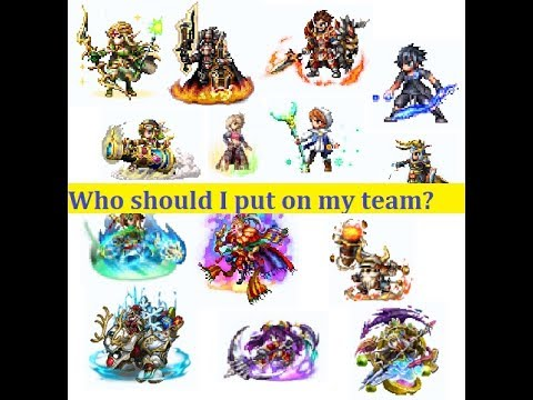 [[Venom explains - FFBE]] The Basics of Team Building. WHO, WHICH, WHY?