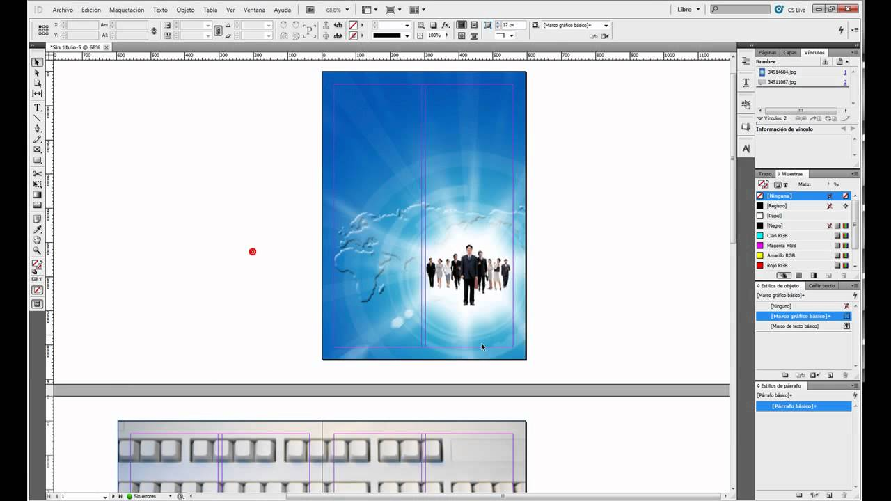 Tutorial Indesign // Crear efecto Page Flip - YouTube