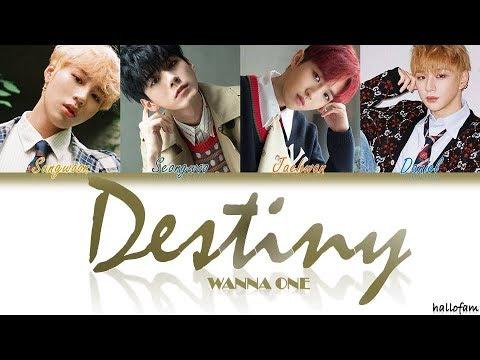 Wanna One (워너원) – 'Destiny' (Intro.) [Han/Rom/Indo] Color Coded Lyrics Sub Indo