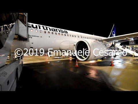 TRIP REPORT | LUFTHANSA | AIRBUS A320Neo | Frankfurt Int. - Milan Malpensa | Economy Light