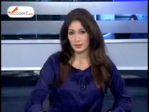 OTV stupid news woman